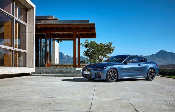 Noua generație BMW Seria 4 Coupe: design nou, tehnologii moderne și motorizări mild-hybrid cu puteri de până la 374 CP - Poza 51