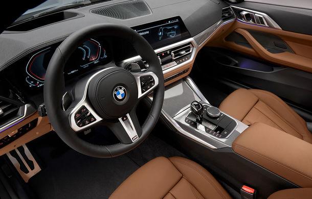 Noua generație BMW Seria 4 Coupe: design nou, tehnologii moderne și motorizări mild-hybrid cu puteri de până la 374 CP - Poza 85