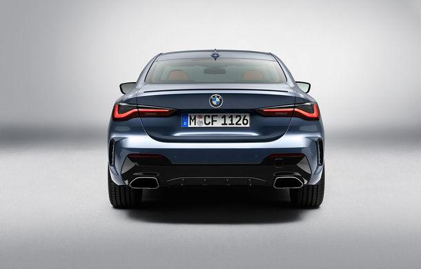 Noua generație BMW Seria 4 Coupe: design nou, tehnologii moderne și motorizări mild-hybrid cu puteri de până la 374 CP - Poza 67