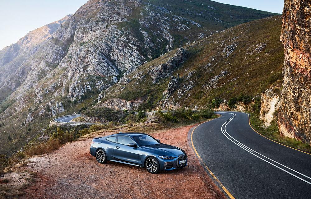 Noua generație BMW Seria 4 Coupe: design nou, tehnologii moderne și motorizări mild-hybrid cu puteri de până la 374 CP - Poza 40