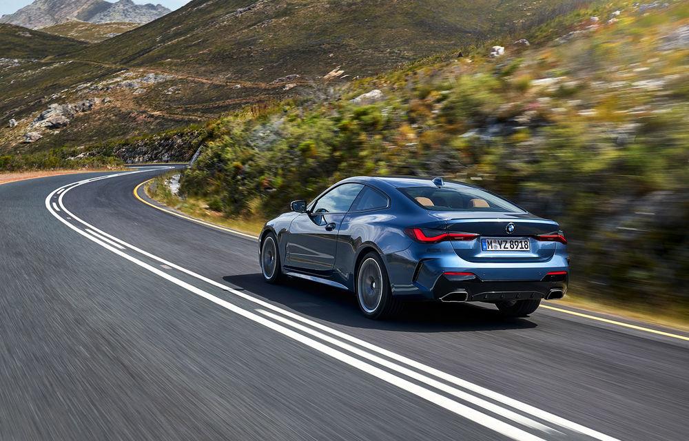 Noua generație BMW Seria 4 Coupe: design nou, tehnologii moderne și motorizări mild-hybrid cu puteri de până la 374 CP - Poza 3