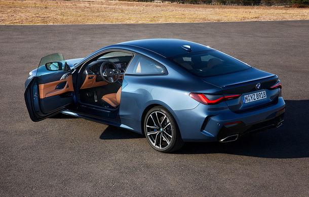 Noua generație BMW Seria 4 Coupe: design nou, tehnologii moderne și motorizări mild-hybrid cu puteri de până la 374 CP - Poza 48
