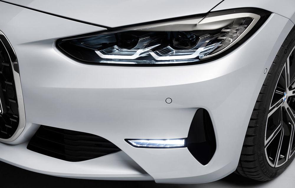 Noua generație BMW Seria 4 Coupe: design nou, tehnologii moderne și motorizări mild-hybrid cu puteri de până la 374 CP - Poza 75