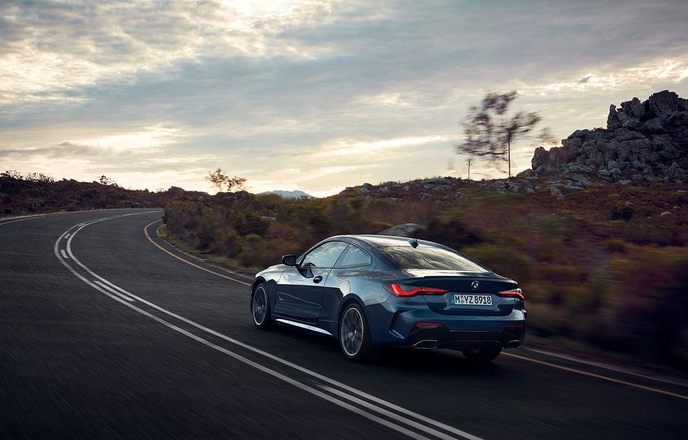 Noua generație BMW Seria 4 Coupe: design nou, tehnologii moderne și motorizări mild-hybrid cu puteri de până la 374 CP - Poza 18