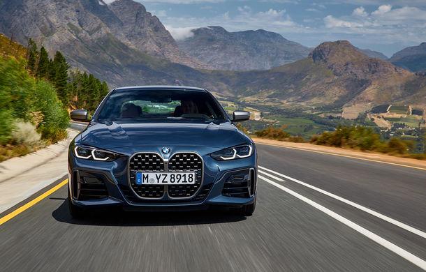 Noua generație BMW Seria 4 Coupe: design nou, tehnologii moderne și motorizări mild-hybrid cu puteri de până la 374 CP - Poza 12