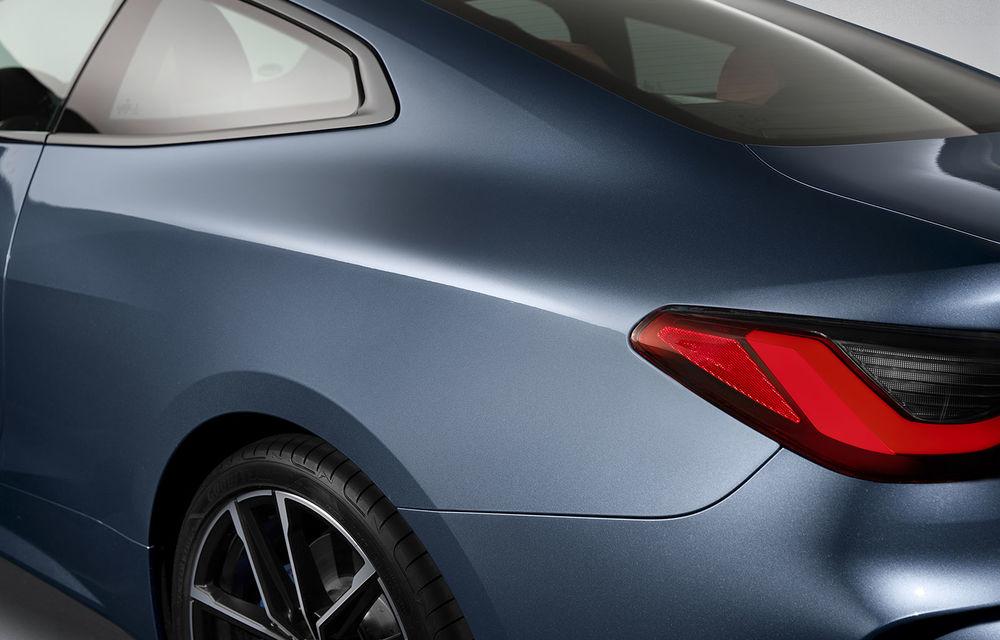 Noua generație BMW Seria 4 Coupe: design nou, tehnologii moderne și motorizări mild-hybrid cu puteri de până la 374 CP - Poza 83