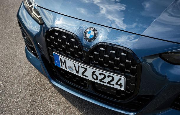 Noua generație BMW Seria 4 Coupe: design nou, tehnologii moderne și motorizări mild-hybrid cu puteri de până la 374 CP - Poza 58