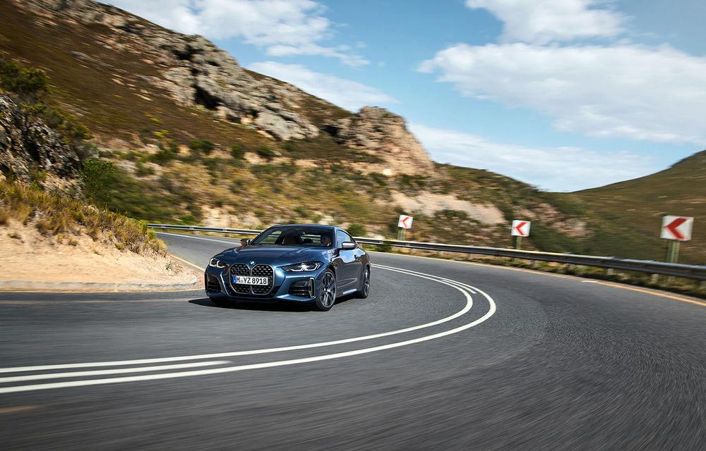 Noua generație BMW Seria 4 Coupe: design nou, tehnologii moderne și motorizări mild-hybrid cu puteri de până la 374 CP - Poza 36
