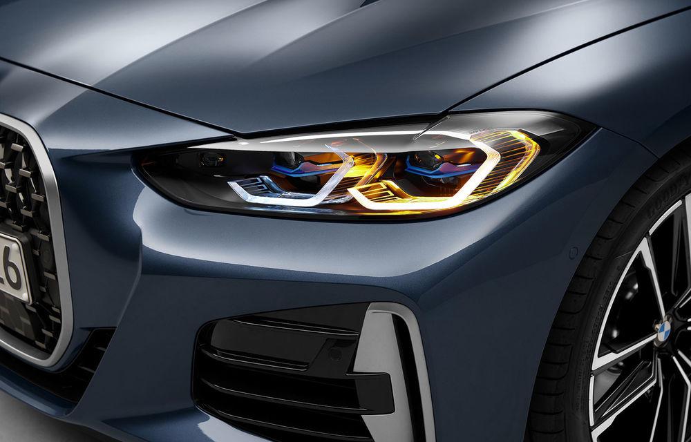 Noua generație BMW Seria 4 Coupe: design nou, tehnologii moderne și motorizări mild-hybrid cu puteri de până la 374 CP - Poza 82