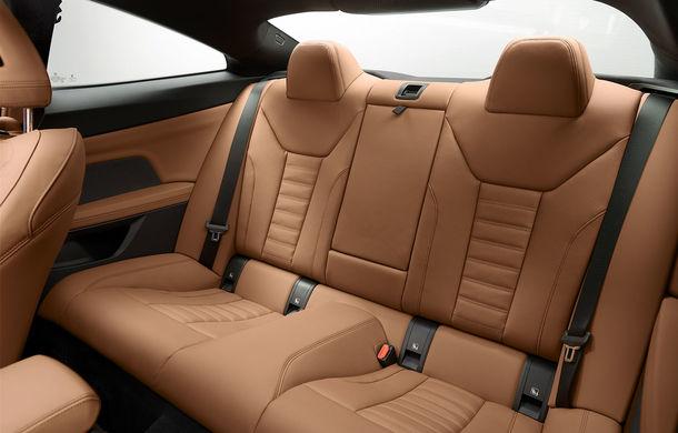 Noua generație BMW Seria 4 Coupe: design nou, tehnologii moderne și motorizări mild-hybrid cu puteri de până la 374 CP - Poza 92