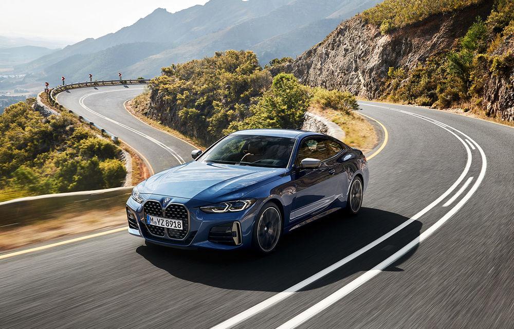 Noua generație BMW Seria 4 Coupe: design nou, tehnologii moderne și motorizări mild-hybrid cu puteri de până la 374 CP - Poza 9