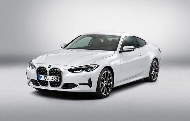 Noua generație BMW Seria 4 Coupe: design nou, tehnologii moderne și motorizări mild-hybrid cu puteri de până la 374 CP - Poza 70