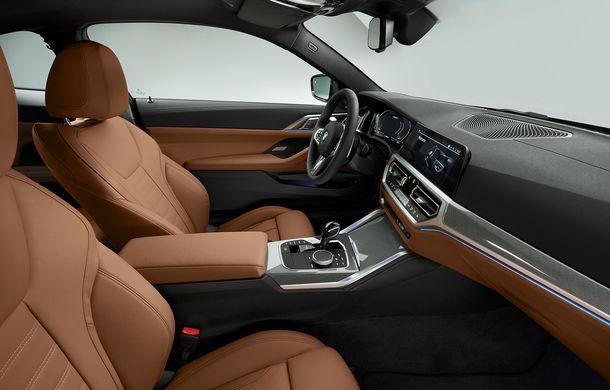 Noua generație BMW Seria 4 Coupe: design nou, tehnologii moderne și motorizări mild-hybrid cu puteri de până la 374 CP - Poza 89