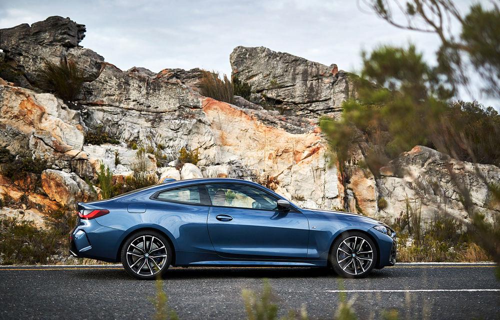 Noua generație BMW Seria 4 Coupe: design nou, tehnologii moderne și motorizări mild-hybrid cu puteri de până la 374 CP - Poza 41