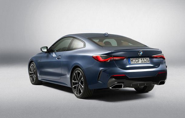 Noua generație BMW Seria 4 Coupe: design nou, tehnologii moderne și motorizări mild-hybrid cu puteri de până la 374 CP - Poza 64
