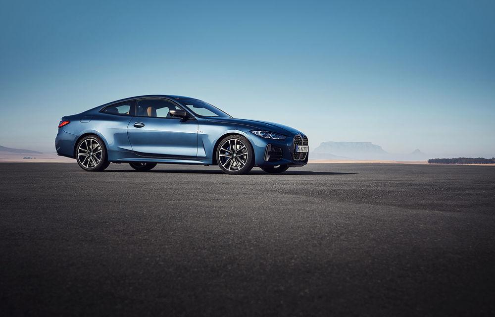 Noua generație BMW Seria 4 Coupe: design nou, tehnologii moderne și motorizări mild-hybrid cu puteri de până la 374 CP - Poza 50