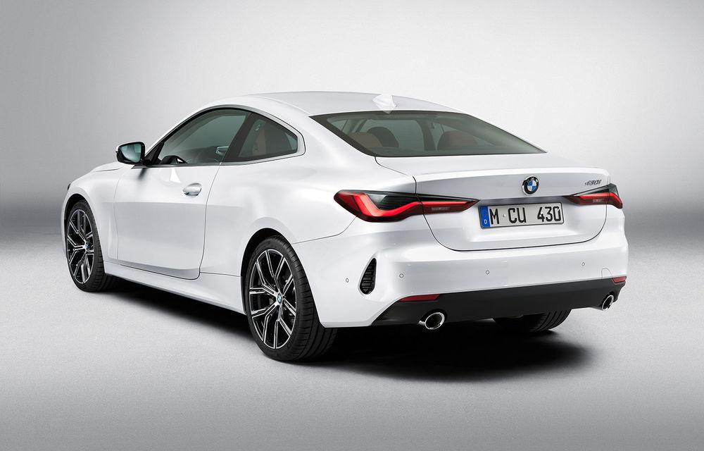 Noua generație BMW Seria 4 Coupe: design nou, tehnologii moderne și motorizări mild-hybrid cu puteri de până la 374 CP - Poza 71