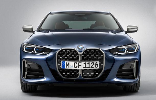 Noua generație BMW Seria 4 Coupe: design nou, tehnologii moderne și motorizări mild-hybrid cu puteri de până la 374 CP - Poza 69