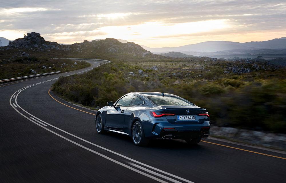 Noua generație BMW Seria 4 Coupe: design nou, tehnologii moderne și motorizări mild-hybrid cu puteri de până la 374 CP - Poza 21