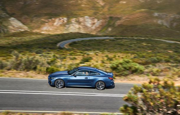 Noua generație BMW Seria 4 Coupe: design nou, tehnologii moderne și motorizări mild-hybrid cu puteri de până la 374 CP - Poza 33