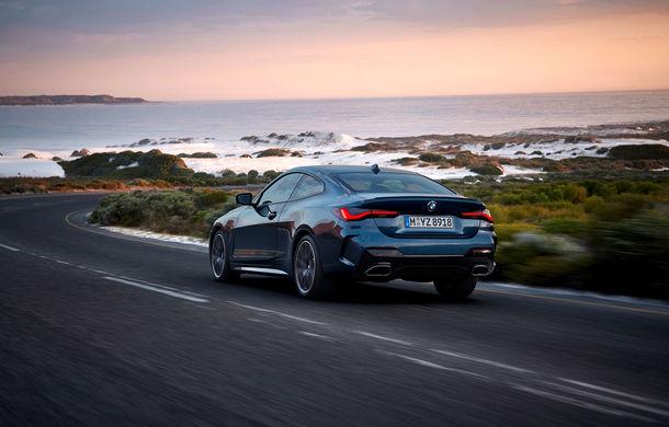 Noua generație BMW Seria 4 Coupe: design nou, tehnologii moderne și motorizări mild-hybrid cu puteri de până la 374 CP - Poza 24