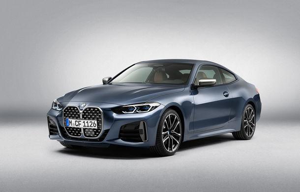 Noua generație BMW Seria 4 Coupe: design nou, tehnologii moderne și motorizări mild-hybrid cu puteri de până la 374 CP - Poza 60