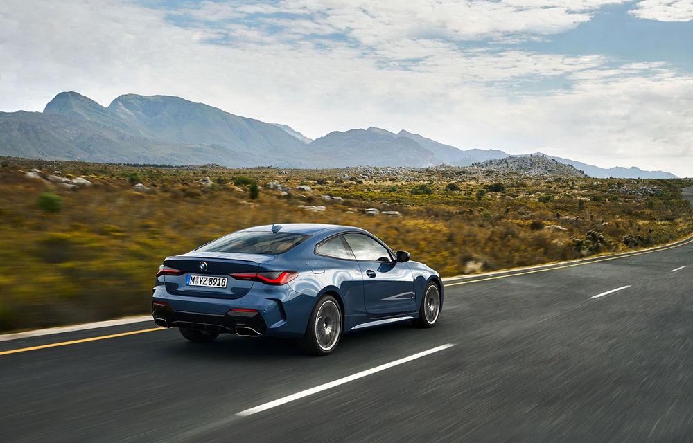Noua generație BMW Seria 4 Coupe: design nou, tehnologii moderne și motorizări mild-hybrid cu puteri de până la 374 CP - Poza 28