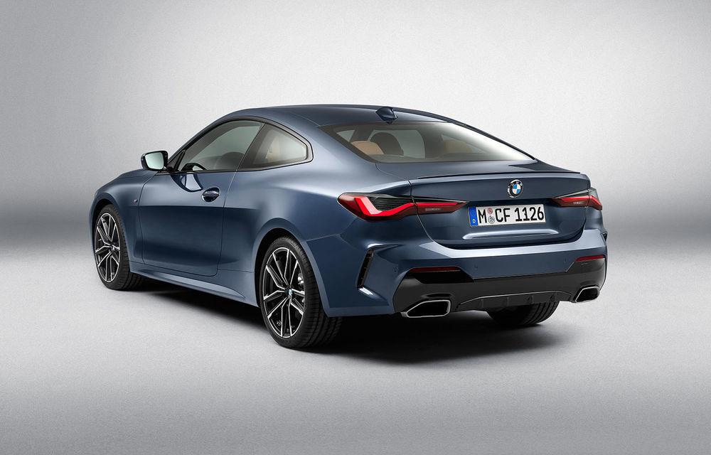 Noua generație BMW Seria 4 Coupe: design nou, tehnologii moderne și motorizări mild-hybrid cu puteri de până la 374 CP - Poza 63