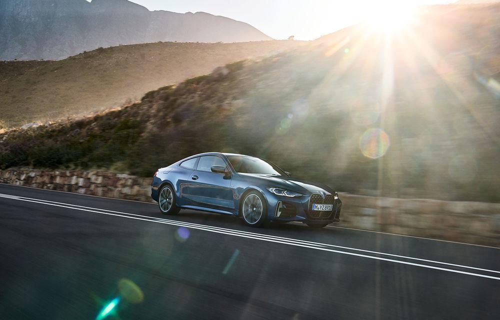 Noua generație BMW Seria 4 Coupe: design nou, tehnologii moderne și motorizări mild-hybrid cu puteri de până la 374 CP - Poza 16