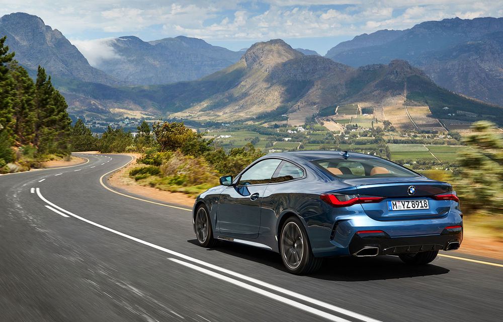 Noua generație BMW Seria 4 Coupe: design nou, tehnologii moderne și motorizări mild-hybrid cu puteri de până la 374 CP - Poza 13