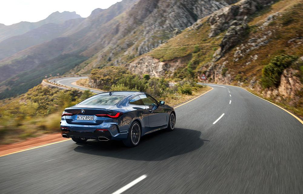 Noua generație BMW Seria 4 Coupe: design nou, tehnologii moderne și motorizări mild-hybrid cu puteri de până la 374 CP - Poza 6
