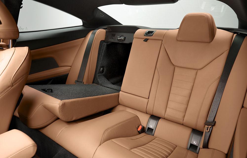 Noua generație BMW Seria 4 Coupe: design nou, tehnologii moderne și motorizări mild-hybrid cu puteri de până la 374 CP - Poza 95