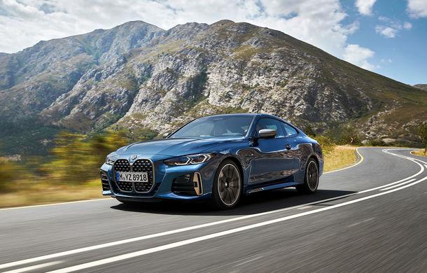 Noua generație BMW Seria 4 Coupe: design nou, tehnologii moderne și motorizări mild-hybrid cu puteri de până la 374 CP - Poza 8