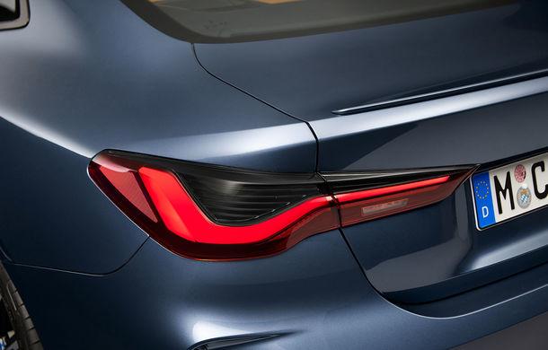 Noua generație BMW Seria 4 Coupe: design nou, tehnologii moderne și motorizări mild-hybrid cu puteri de până la 374 CP - Poza 100
