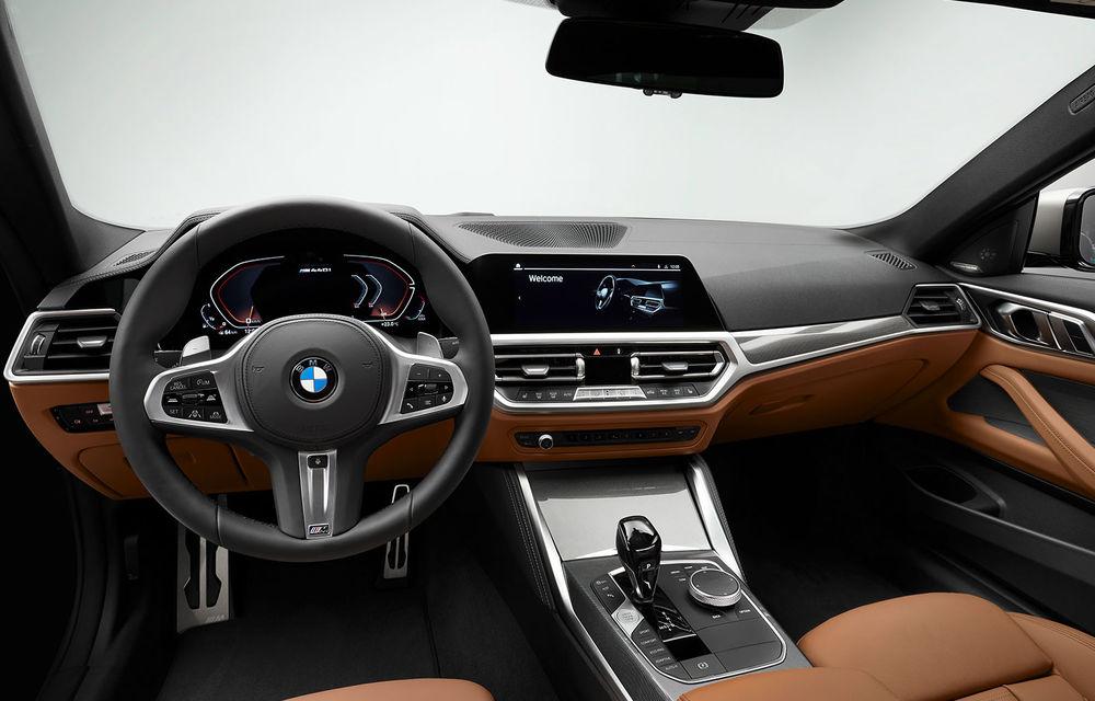 Noua generație BMW Seria 4 Coupe: design nou, tehnologii moderne și motorizări mild-hybrid cu puteri de până la 374 CP - Poza 86
