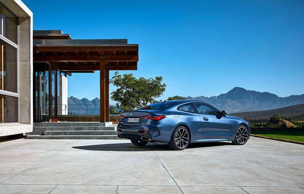 Noua generație BMW Seria 4 Coupe: design nou, tehnologii moderne și motorizări mild-hybrid cu puteri de până la 374 CP - Poza 52