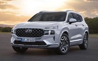 Primele imagini cu Hyundai Santa Fe facelift: design îmbunătățit, platformă nouă și versiune plug-in hybrid