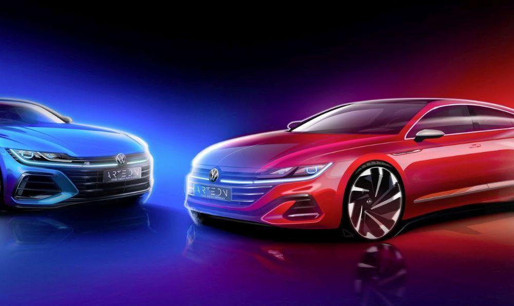 Volkswagen pregătește facelift și versiune Shooting Brake pentru Arteon: premieră mondială în 24 iunie - Poza 2