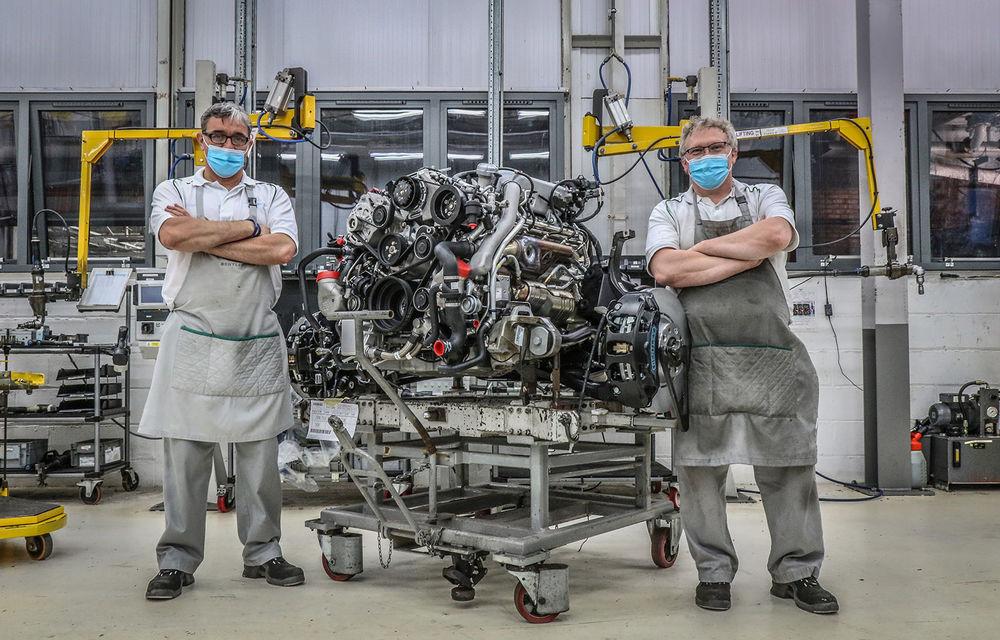Final de carieră pentru motorul V8 de 6.75 de litri produs de Bentley: arhitectura propulsorului este folosită din 1959 - Poza 1