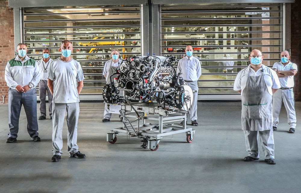 Final de carieră pentru motorul V8 de 6.75 de litri produs de Bentley: arhitectura propulsorului este folosită din 1959 - Poza 2