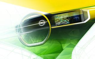 Teaser pentru noua generație Opel Mokka: SUV-ul va avea cockpit digital Pure Panel cu ecrane touch de mari dimensiuni