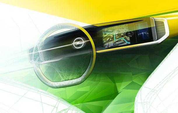 Teaser pentru noua generație Opel Mokka: SUV-ul va avea cockpit digital Pure Panel cu ecrane touch de mari dimensiuni - Poza 1