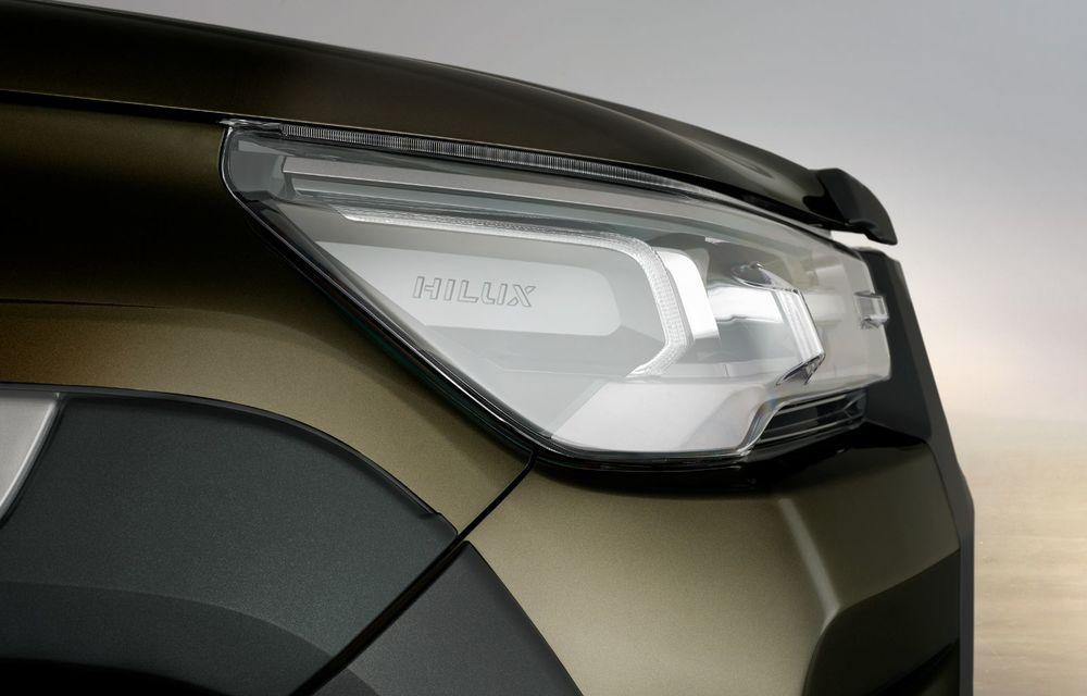 Toyota lansează Hilux facelift: modificări estetice, suspensii îmbunătățite și un nou motor diesel de 2.8 litri cu 204 CP - Poza 10