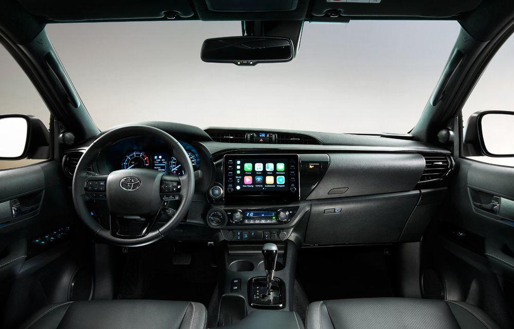 Toyota lansează Hilux facelift: modificări estetice, suspensii îmbunătățite și un nou motor diesel de 2.8 litri cu 204 CP - Poza 19