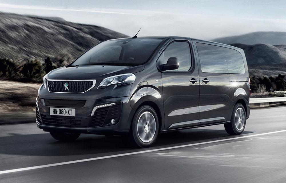 Peugeot prezintă versiunea electrică a utilitarei de persoane Traveller: 136 de cai putere și autonomie de până la 330 de kilometri - Poza 1
