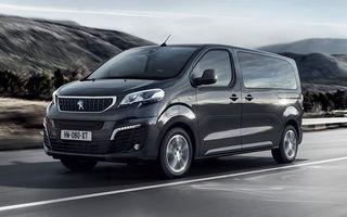 Peugeot prezintă versiunea electrică a utilitarei de persoane Traveller: 136 de cai putere și autonomie de până la 330 de kilometri