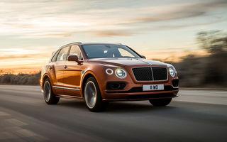 Bentley deschide șampania: constructorul britanic a produs 20.000 de unități Bentayga