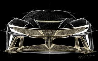 Primele teasere cu viitorul hypercar pregătit de start-up-ul Naran Automotive: motor V8 de 5.0 litri cu peste 1.000 CP