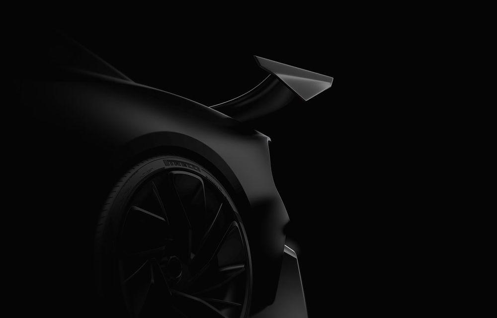 Primele teasere cu viitorul hypercar pregătit de start-up-ul Naran Automotive: motor V8 de 5.0 litri cu peste 1.000 CP - Poza 3