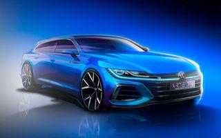 Video. Viitorul Volkswagen Arteon Shooting Brake, surprins în timpul testelor: modelul va fi prezentat în 24 iunie